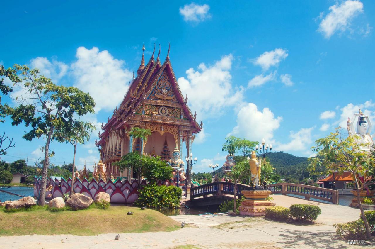 Храм в парке религий на Самуи, Тайланд